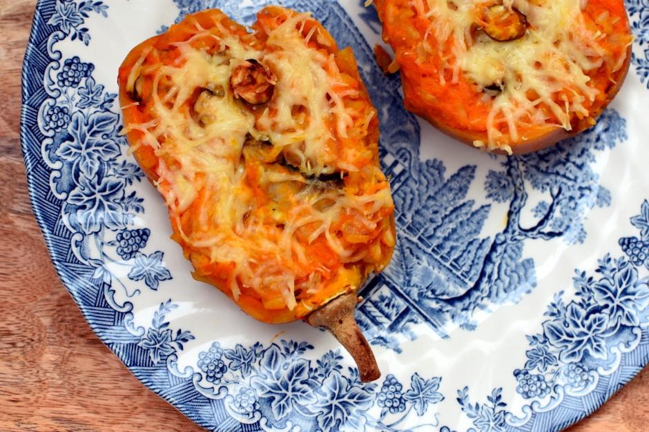recette-butternut-farci-recette-végétarienne