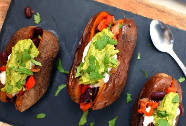 patate-douce-au-four-façon-tex-mex