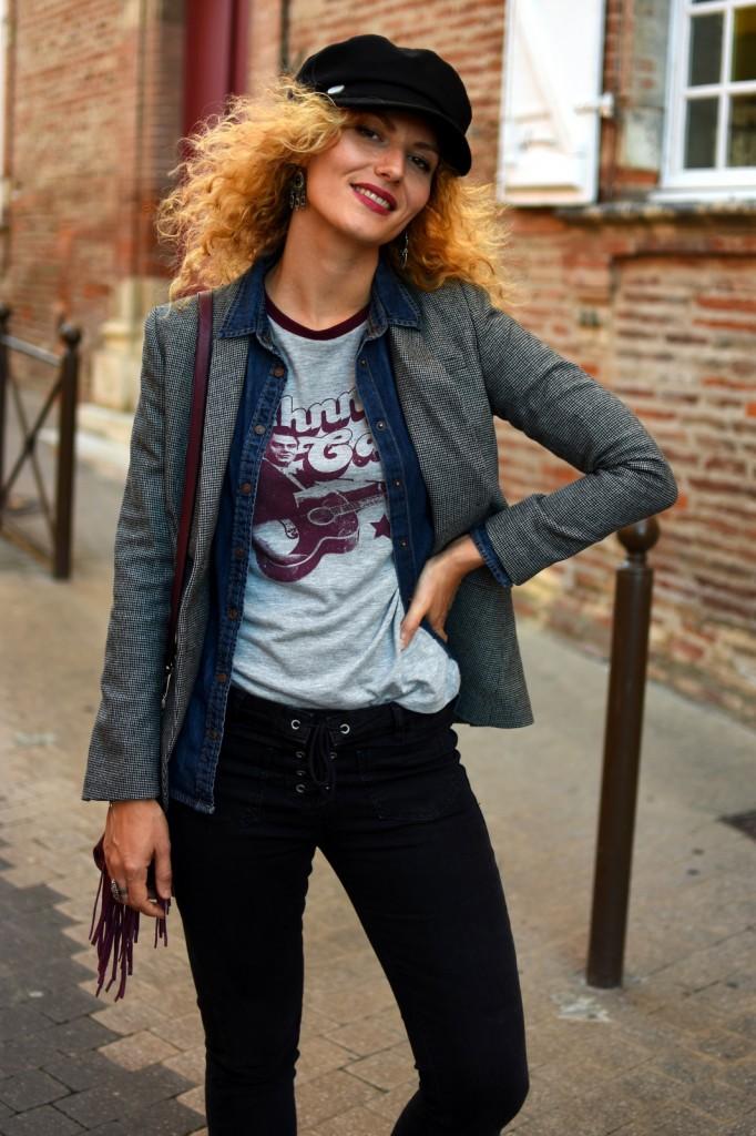 t-shirt-rock-casquette-marin