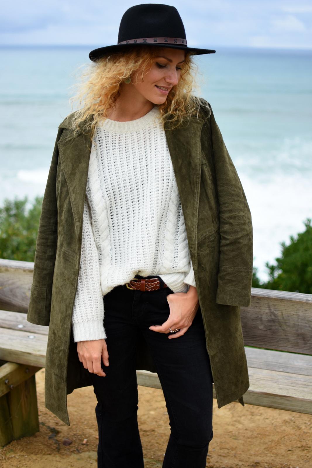 pull-laine-torsadé-blanc