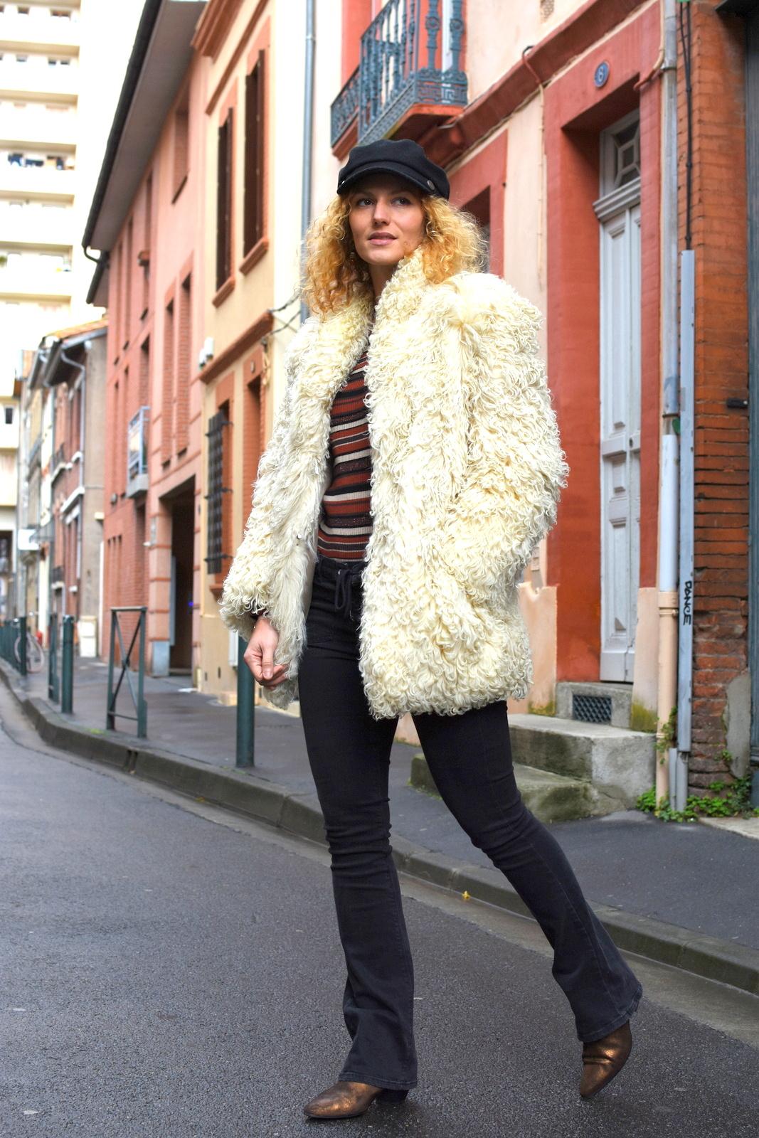 look-femme-annees-70