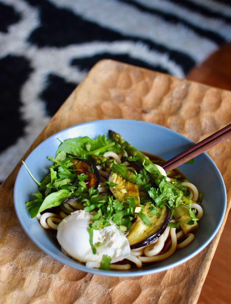recette-nouilles-udon-végétarienne