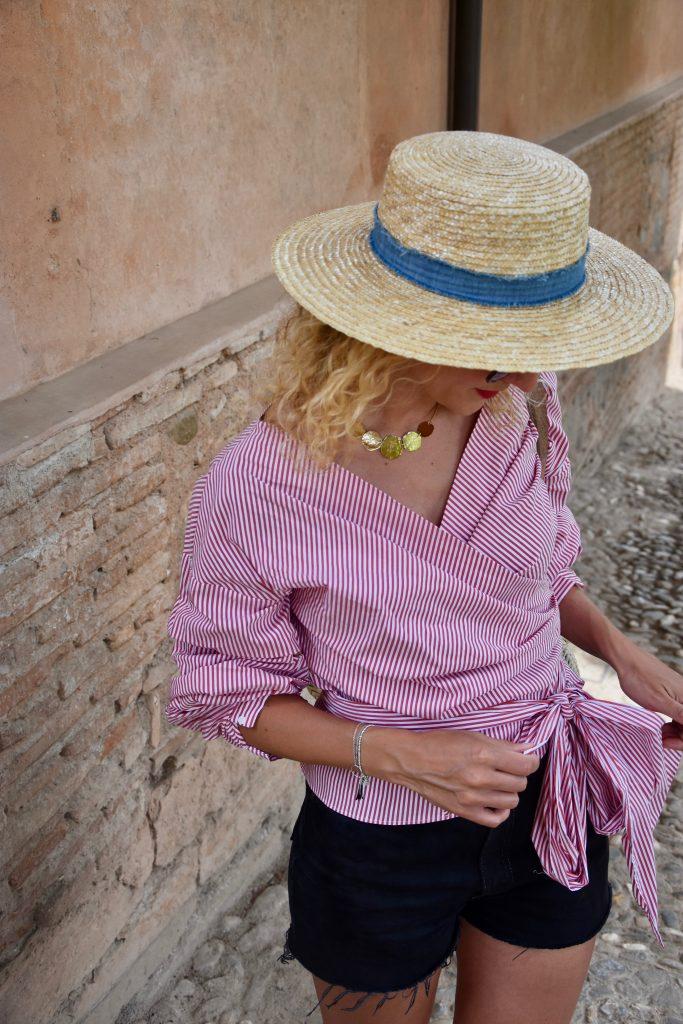 chemise-rayée-noeud