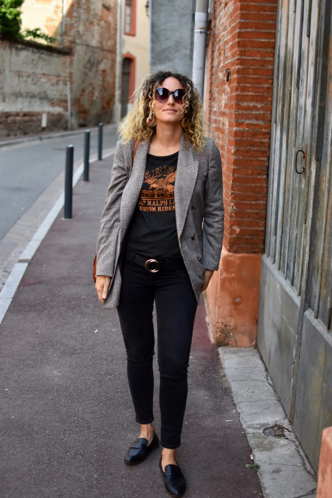 blazer-à-carreaux-t.shirt-rock