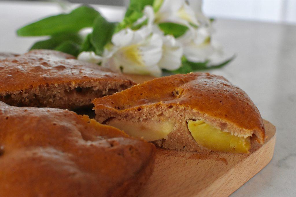 gâteau-healthy-pommes-sirop-érable