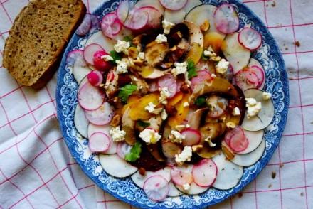 carpaccio légumes hiver