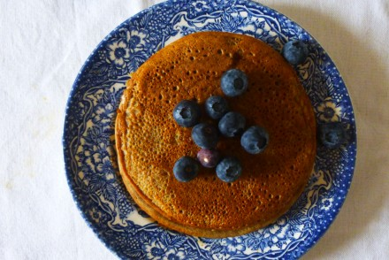 pancakes san gluten, banana pancakes, recette saine, rock my casbah