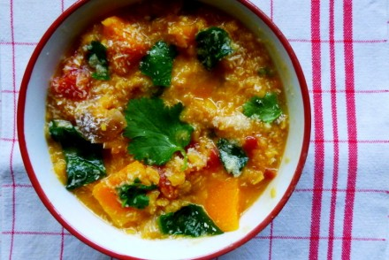 dhal indien, lentilles corail, végétarien, veggie, healthy, vegan, rock my casbah