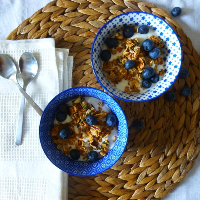 muesli granola maison, homemade granola, rock my casbah