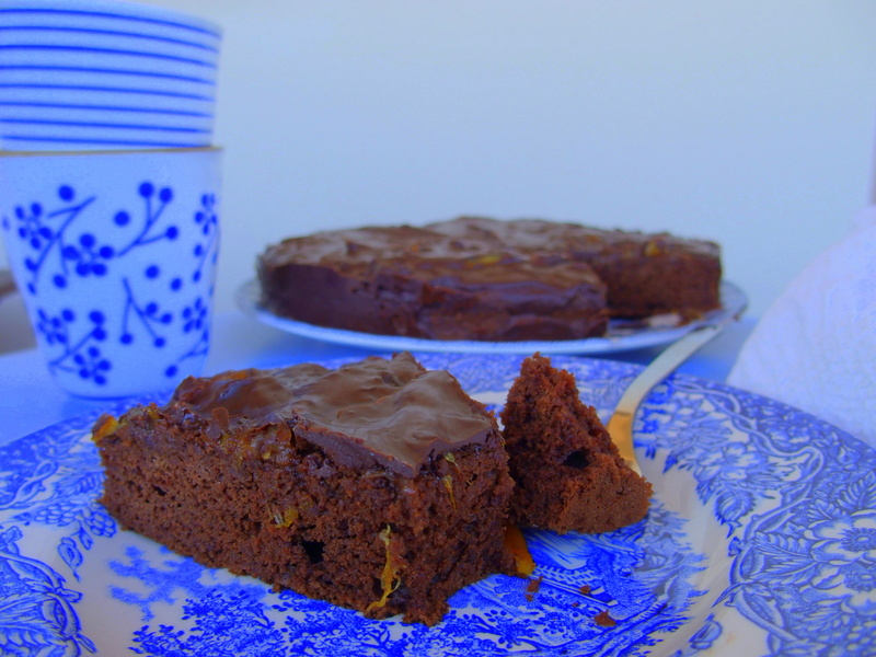gâteau chocolat oranhe healthy blogueuse toulouse
