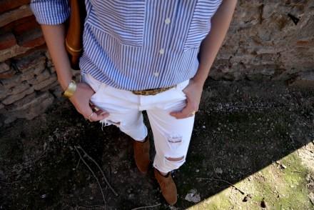 ootd blog mode fashion blo blogueuse tououse jean blanc minnetonka