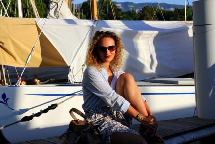 jupe longue summer outfit sac yves saint laurent blog mode toulouse