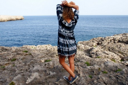 robe tie&dye style boho blog mode rock my casbah
