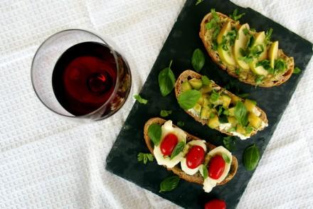 recette tartines apéritives idées apéro dinatoire blog culinaire rock my casbah toulouse