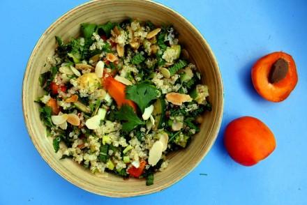 recette de taboulé de quinoa reette fraîche saine blog de cuisine healthy rock my casbah