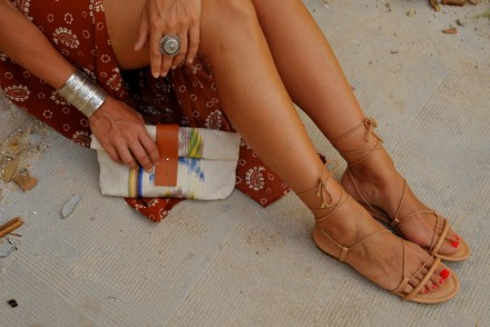 jupe culotte culotte spartiates look boho summer outfit blogger blog mode rock my casbah