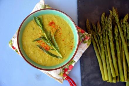 soupes d'asperges