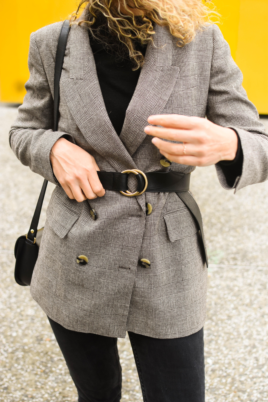 blazer- ceinture